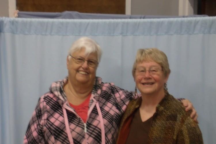 Marsha Booth, Sharon Stump